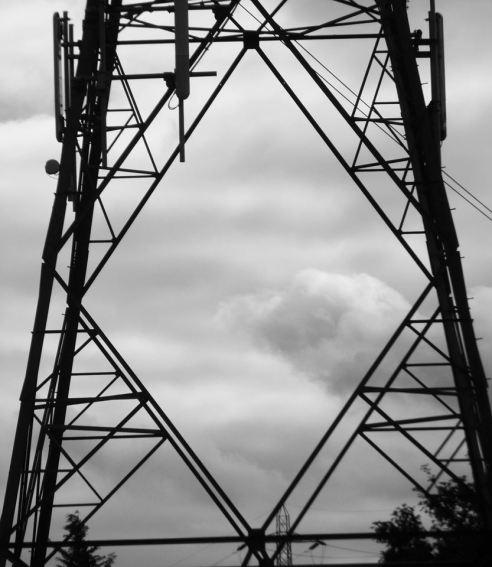 Electricity Pylons - Diamond in the Sky