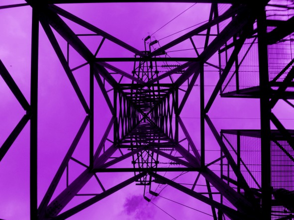 Beautiful Pylon (Purple)